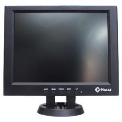 """HASAR MONITOR PLANO LCD 12"""""""
